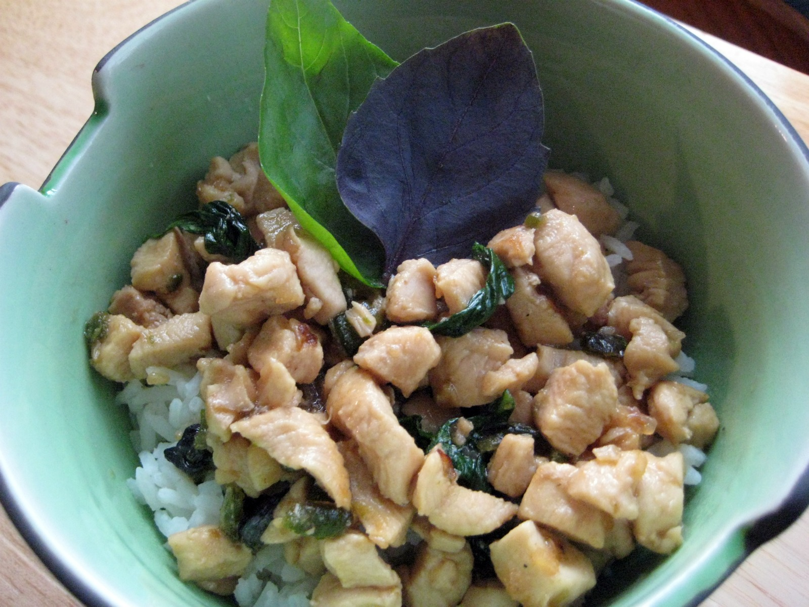 I'll Have Seconds: Thai Chicken and Basil Stir-Fry