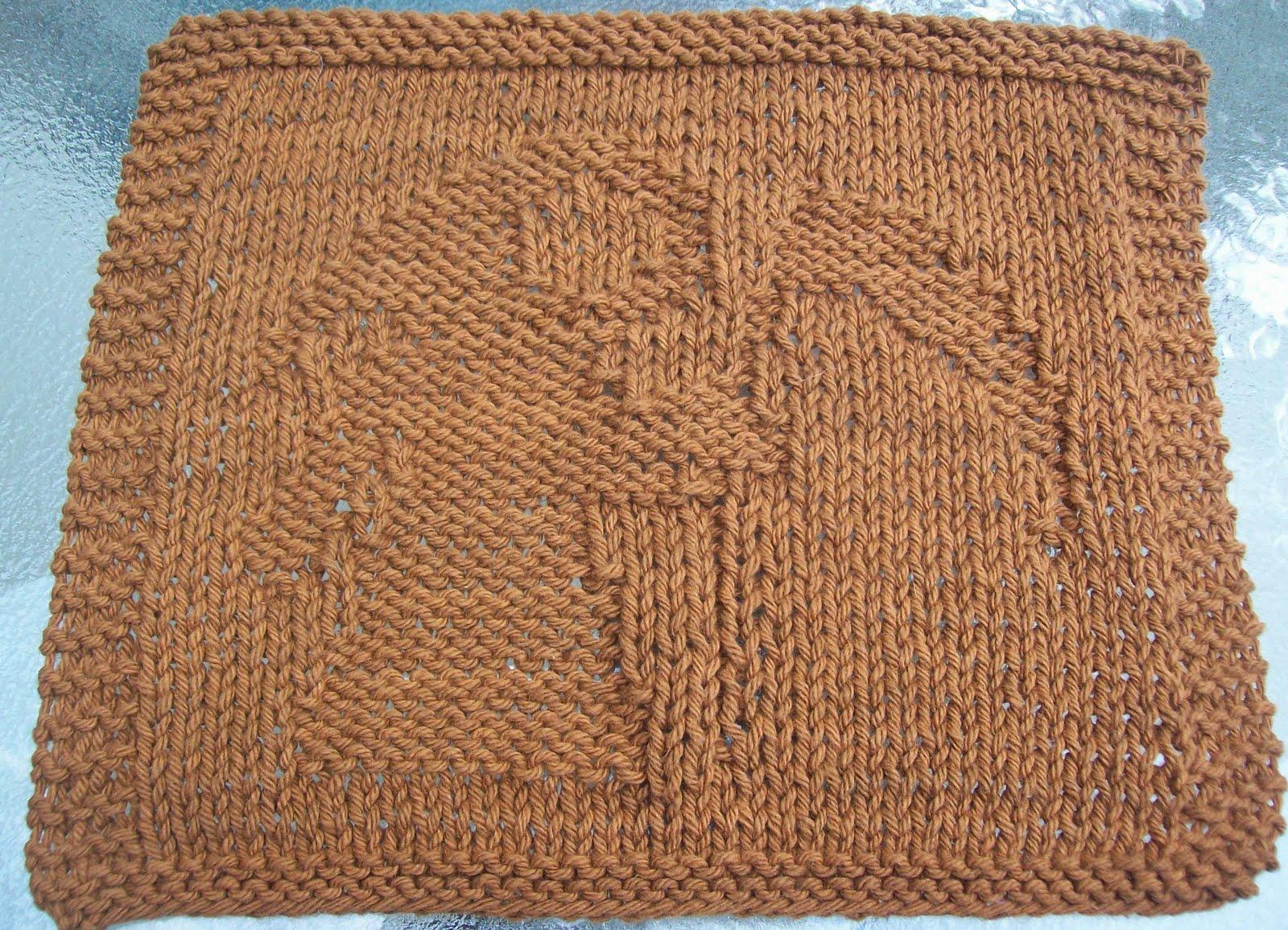 DigKnitty Designs: Reaper Knit Dishcloth Pattern