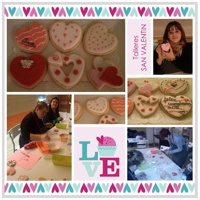 taller galletas san valentin