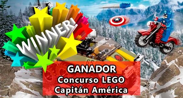 Ganador Concurso Lego Capitán América
