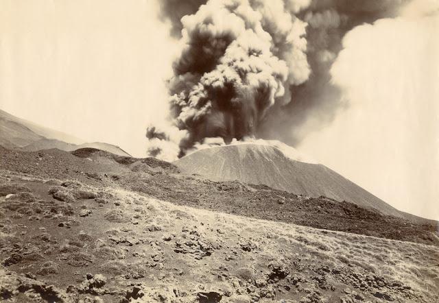 Eruption of Mount Etna, 1892