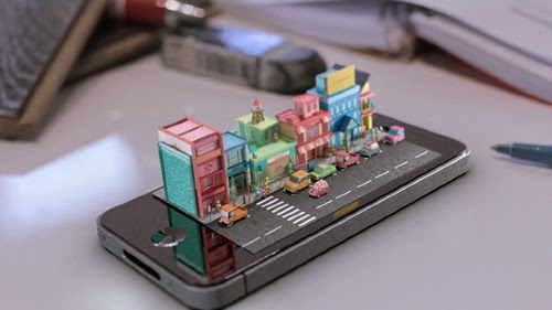 00-Apple-Phone-Mike-Ko-iPhone-Diorama-3D-Images-Hologram-www-designstack-co