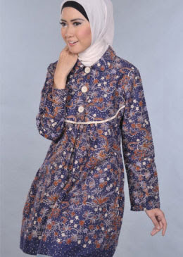 Model Baju Batik Modern Terbaru 2014