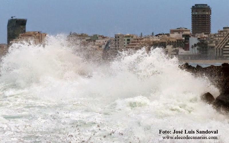 alerta temporal viento, costero y lluvias canarias 28  y 29 noviembre