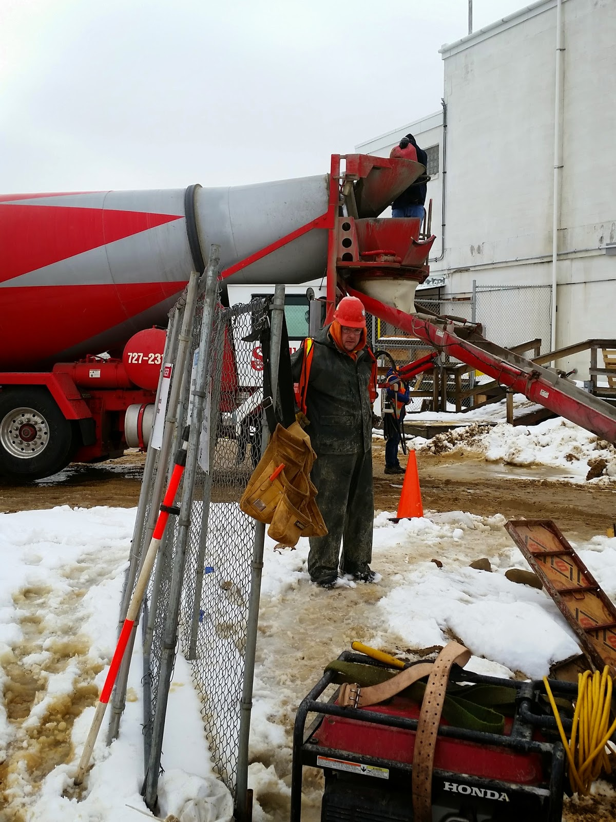 Pioneer Valley Concrete Service Spends A Winter On An
