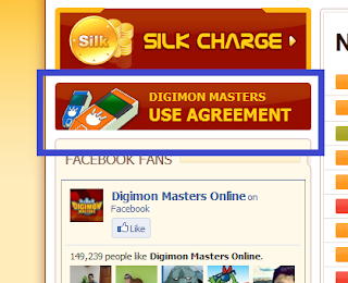 digimon masters online sign up, user agreement