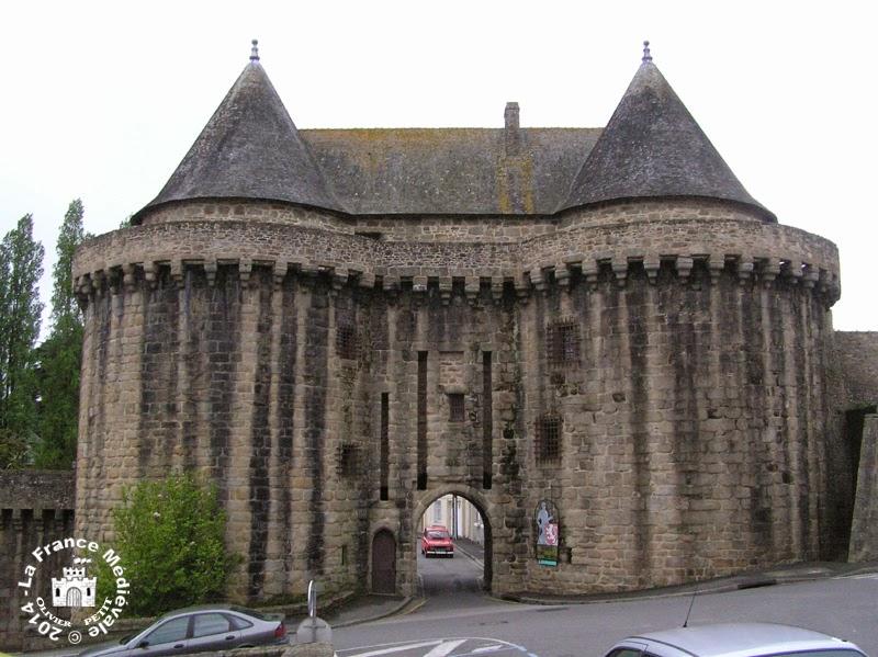 HENNEBONT (56) - La Porte de Broërech