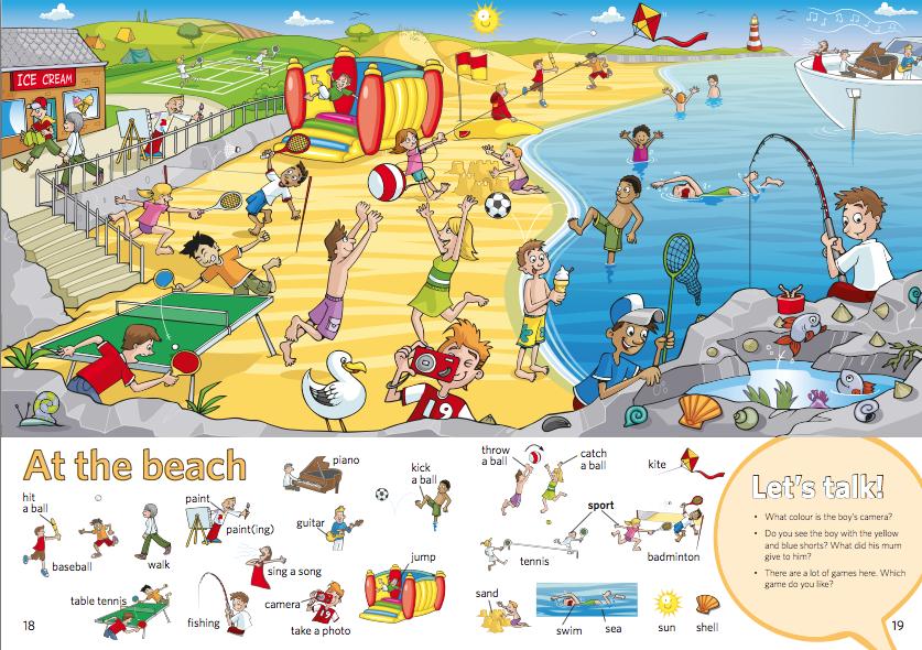 PrimaryBlume 2: Describing activities & pictures