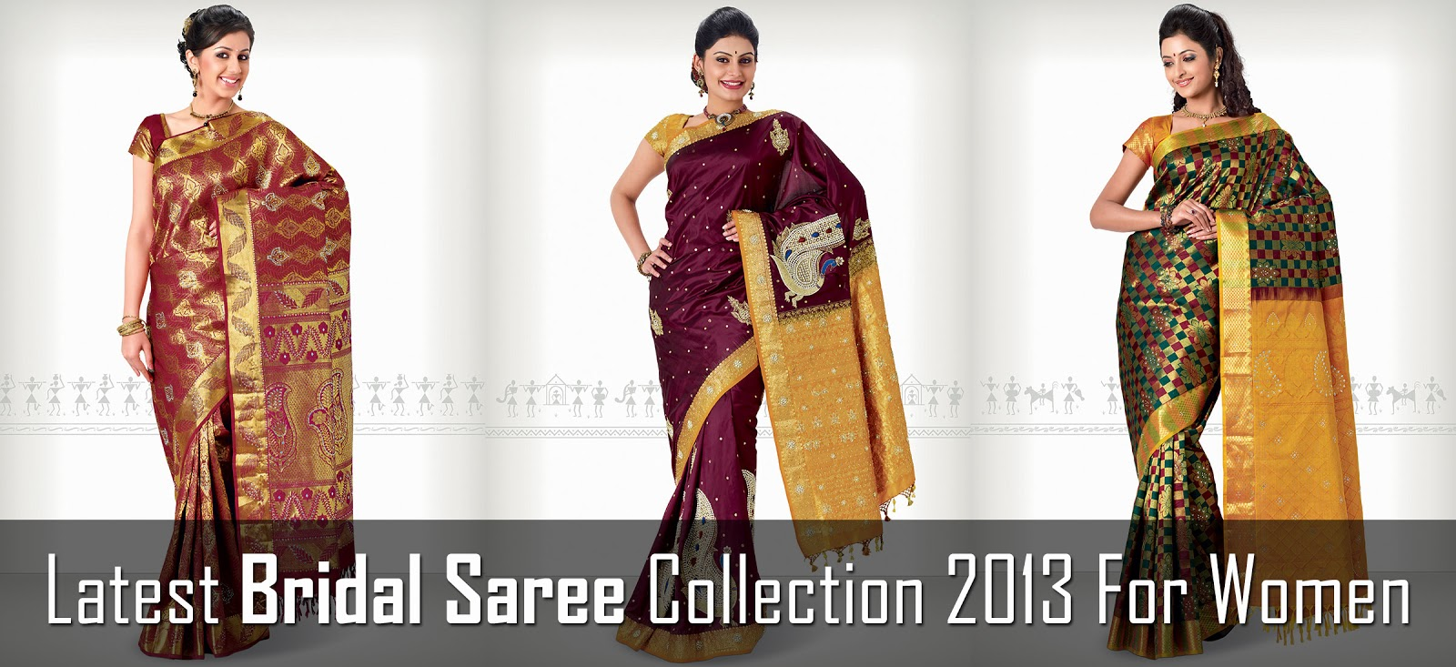 Latest Bridal Saree Collection 2013 For Women | Indian Designer ...