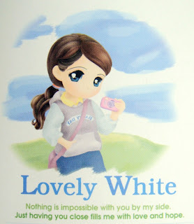 lovely white cute