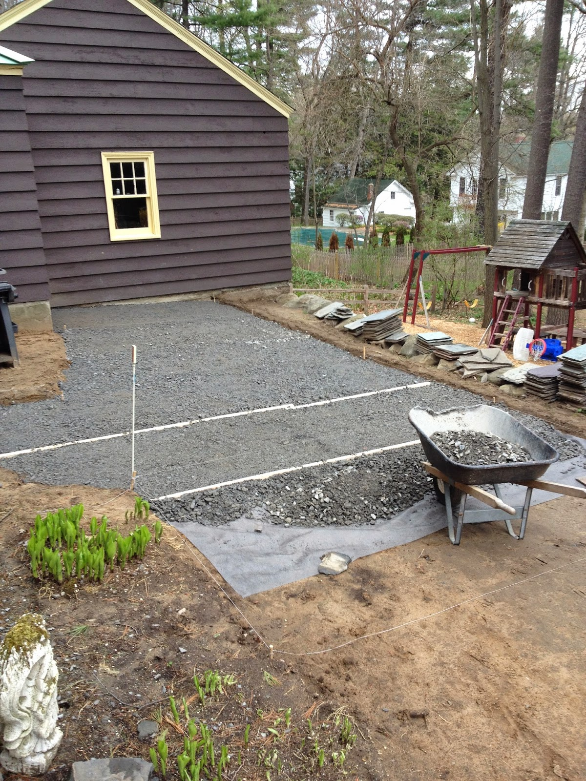 How to Make a Slate Patio | How to Build a Slate Patio