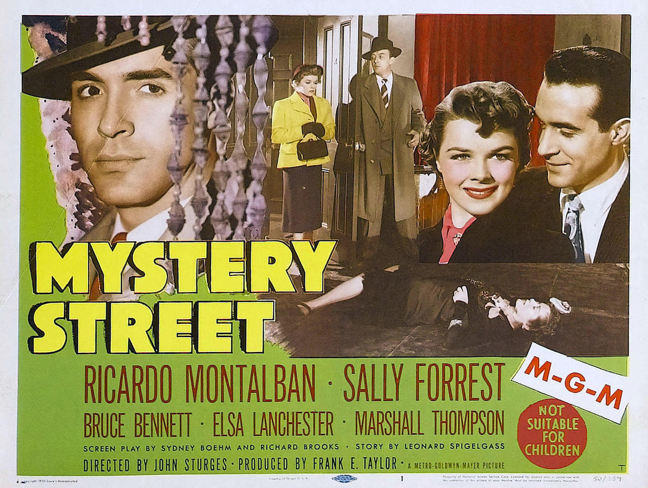 Mystery Street 1950 Review