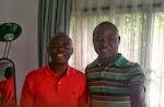 Ayodele Samuel with Pastor Tunde Bakare