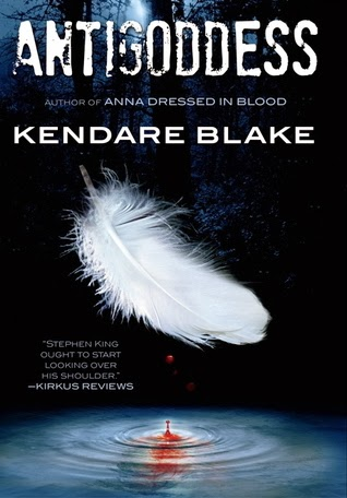 antigoddess by kendare blake book cover