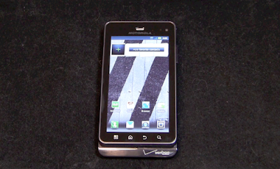 Motorola Droid 3 Unboxing Video