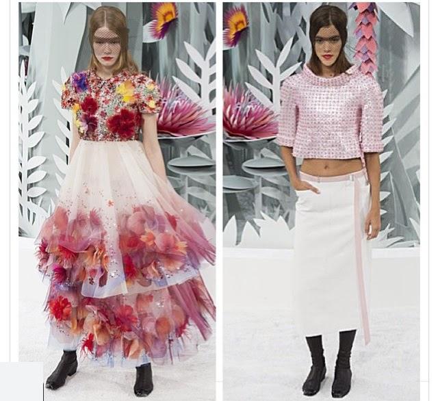 Chanel Spring Summer ruffles