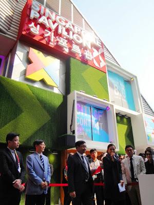 Singapore pavilion - Expo 2012 Yeosu Korea