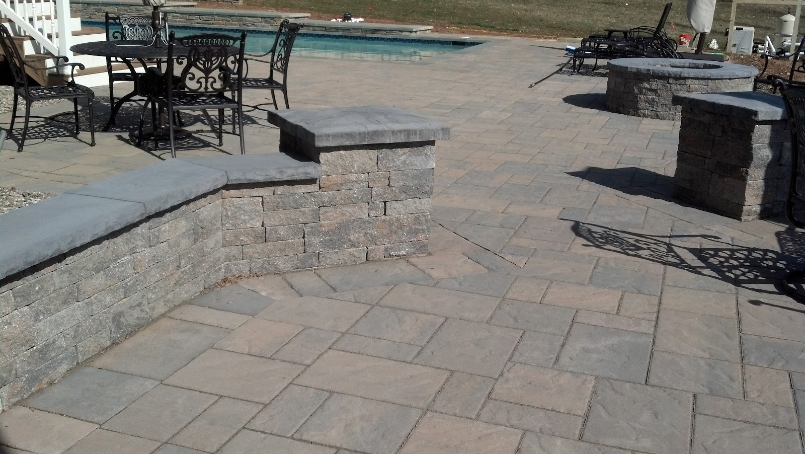 life time pavers techo bloc blu patio pooldeck walls