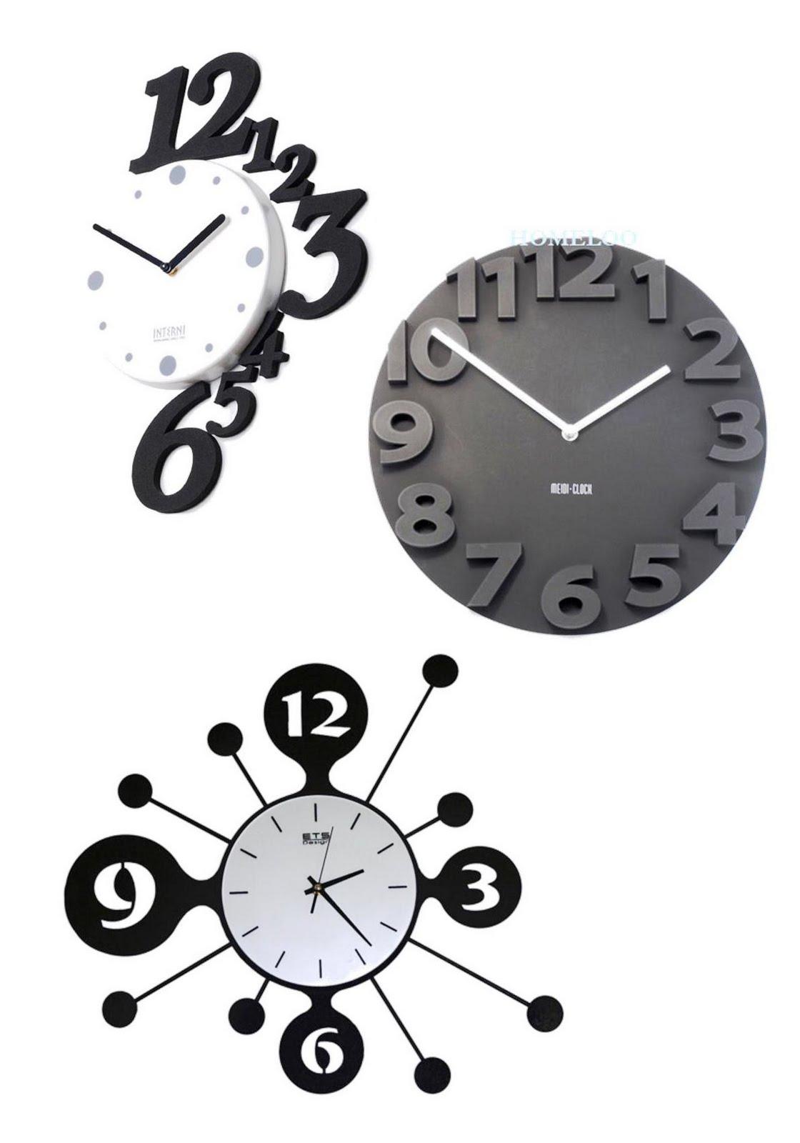 Large Wall Clocks Large Numbers Clocks