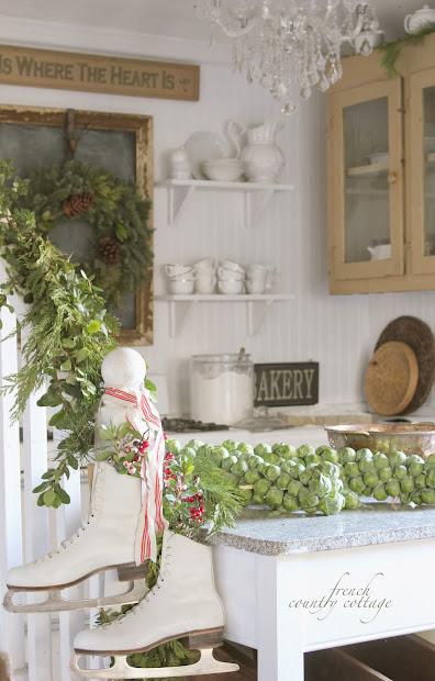 French Country Cottage Christmas Decor