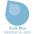 Приглушено синьо