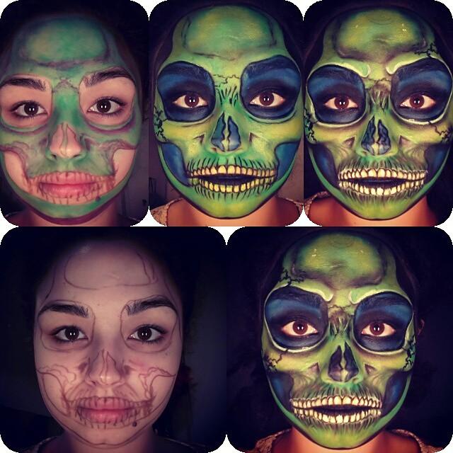 Halloween Skull 2014 pictorial
