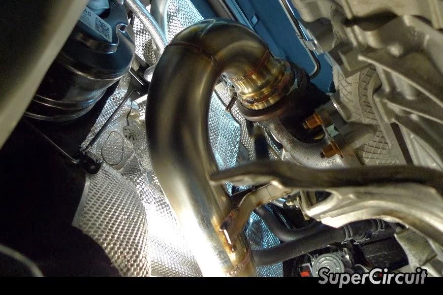 supercircuit exhaust pro shop vw golf 7 1 4 tsi turbo downpipe. Black Bedroom Furniture Sets. Home Design Ideas