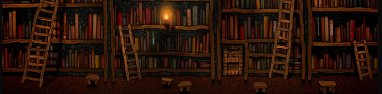 Mystical Library Shelves