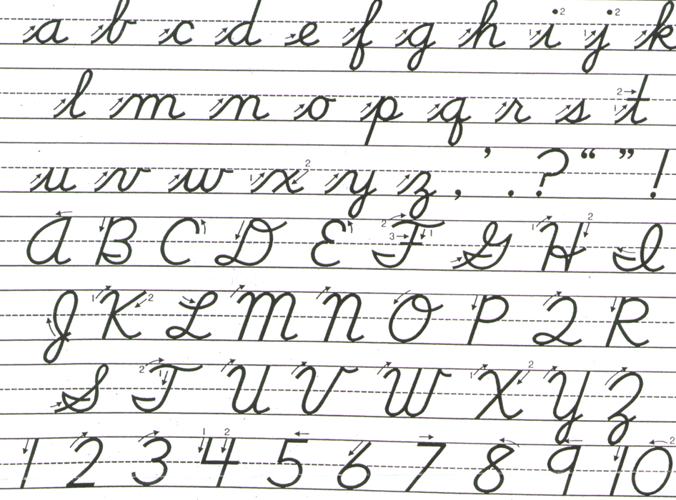 How To Print Off Free Handwriting Practice