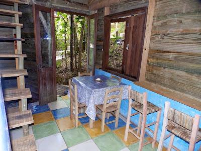 Sala jantar cabana 4
