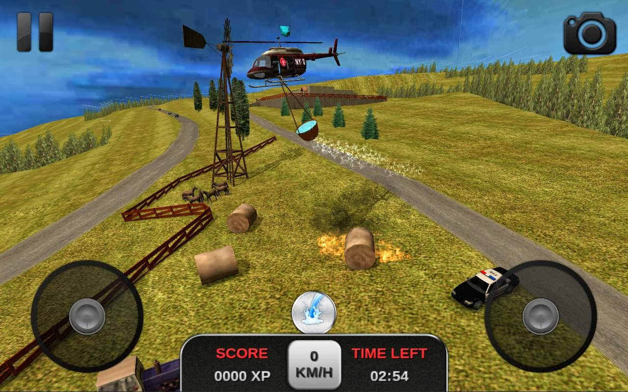 Games - Crack APK HVGA QVGA HD Games: Firefighter Simulator 3D MOD APK