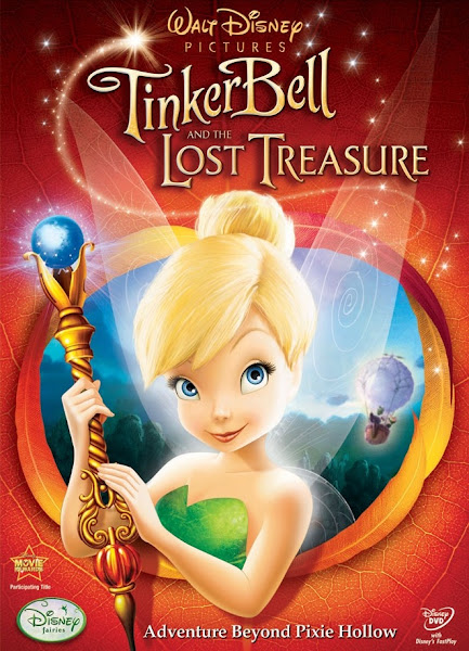 Watch Tinker Bell and the Lost Treasure (2009) Hollywood Movie Online | Tinker Bell and the Lost Treasure (2009) Hollywood Movie Poster