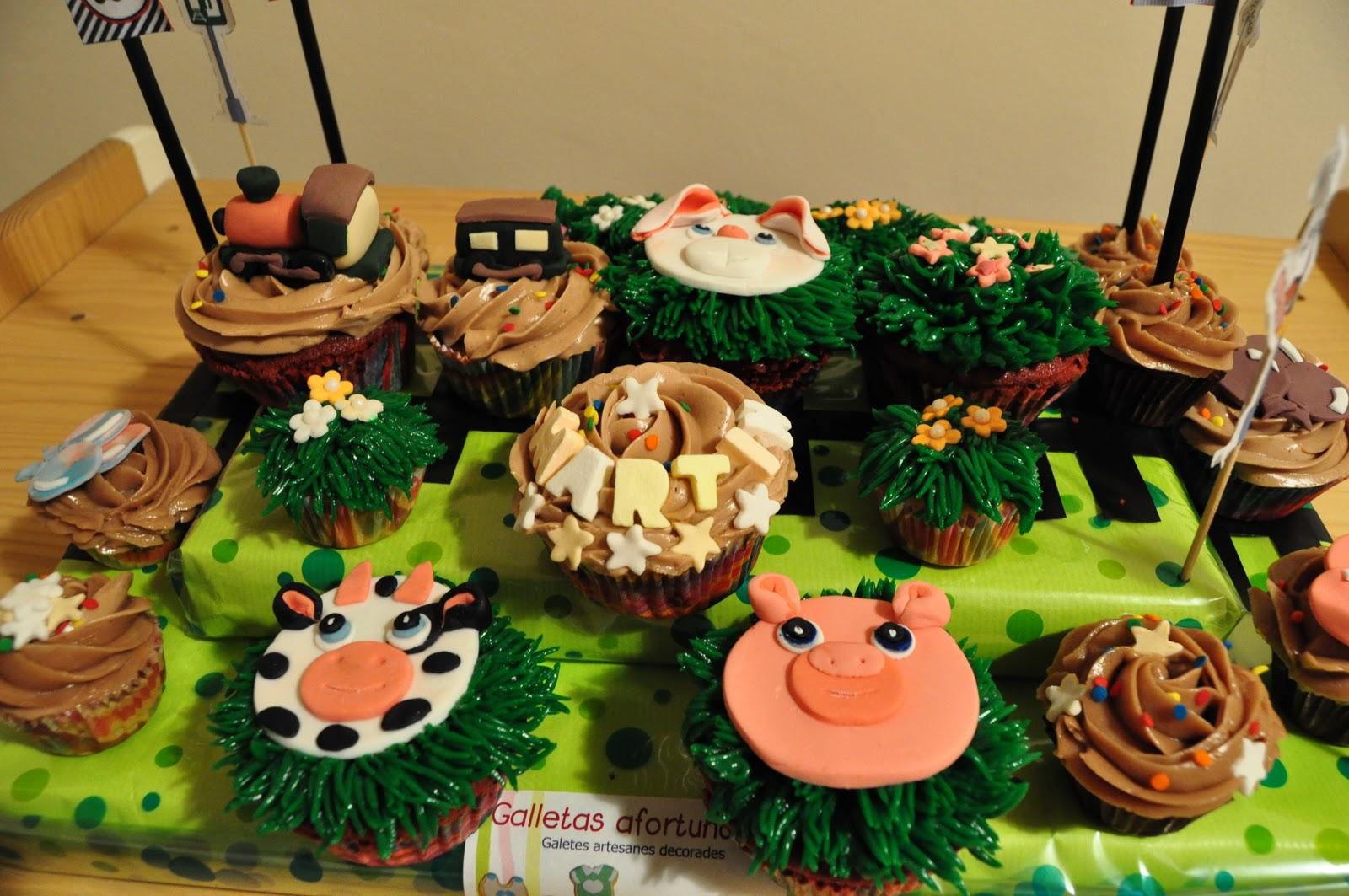 Galletasafortunadas cupcakes para el cumplea os de un - Cumpleanos para ninos de diez anos ...