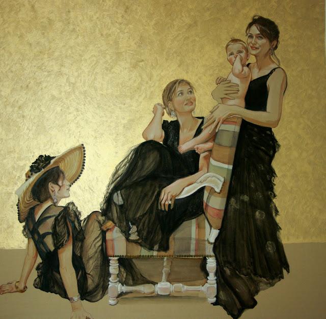 15 Mai - Portraits aquarellés terminés