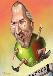 Steve Jobs caricature humor