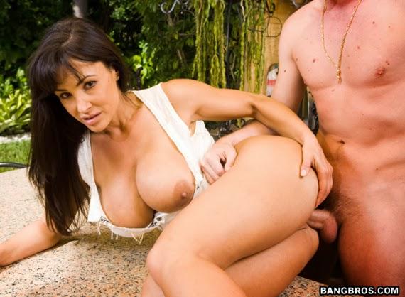 Lisa Ann's Sexy Threesome