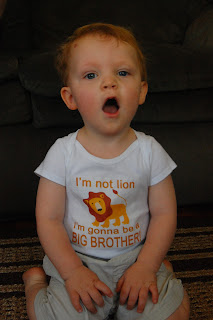 Iron On Transfer - Im not lion Im gonna be a big brother