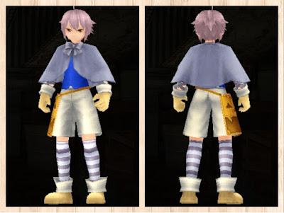 ハロウィンの衣 青1+白3 重量化