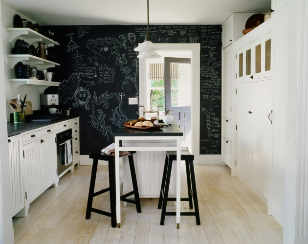 dinning room chalkboard wall paint ideas