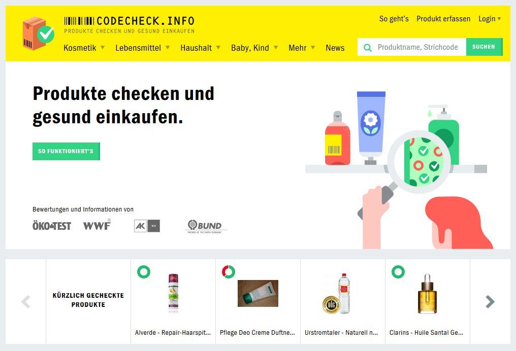 Netz-Werke | Codecheck.info | Screenshot