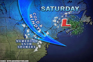>Powerful Backlash Wind, Snow Showers Impact Northeast, Mid-Atlantic US