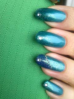 kiko frozen 03, kiko 337 ed  essence color&go 38 choose me con  microperle argento e swarovski diamante