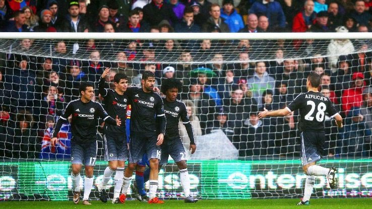 John Mikel Obi Shines As Chelsea Cruise: Crystal Palace 0 Chelsea 3 (Watch The Goals And Highlights)