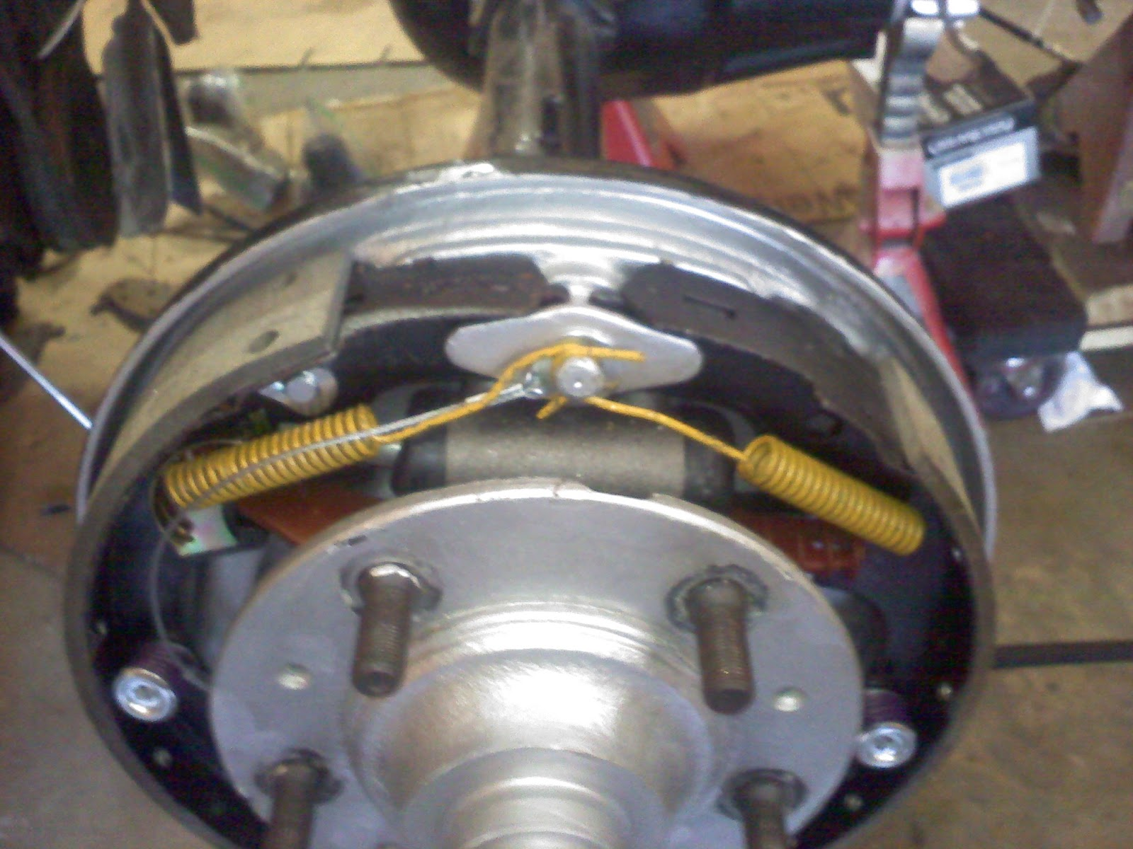 Drum Brake Install On Amc 20 Rear Axle