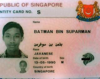 jesus,condom,kondom,sex,nama,lucu,unik,aneh,dunia,porno,porn,chinese,name,superhero,batman,superman,pahlawan,singapura