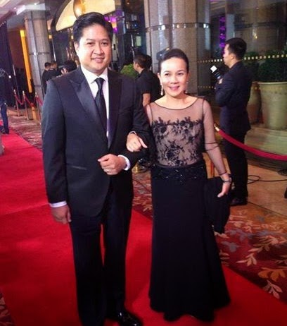 8th Star Magic Ball Couple Sen. Grace Poe-Llamanzares and Neil Llamanzares