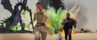 disney mashup the force awakens