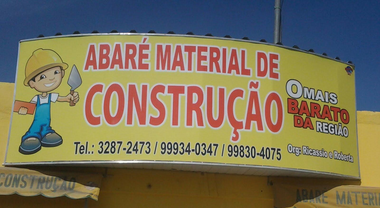 Abaré Material de Construção