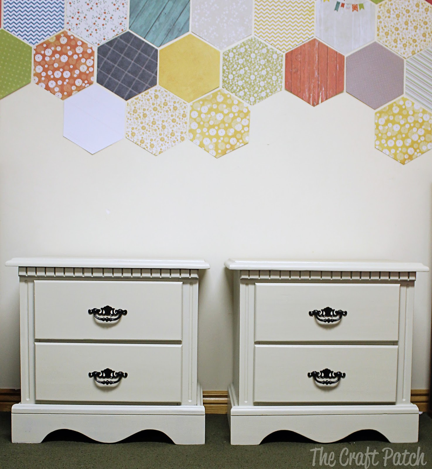 Kids Room Decorating: Painted Nightstands FAIL - thecraftpatchblog.com