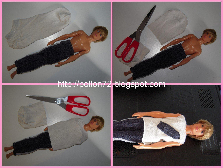 Top Mamma Claudia e le avventure del Topastro: Vestiti per Barbie e Ken NJ76